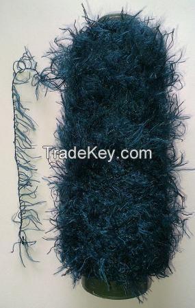 100%Polyester Feather Yarn Fancy Yarn
