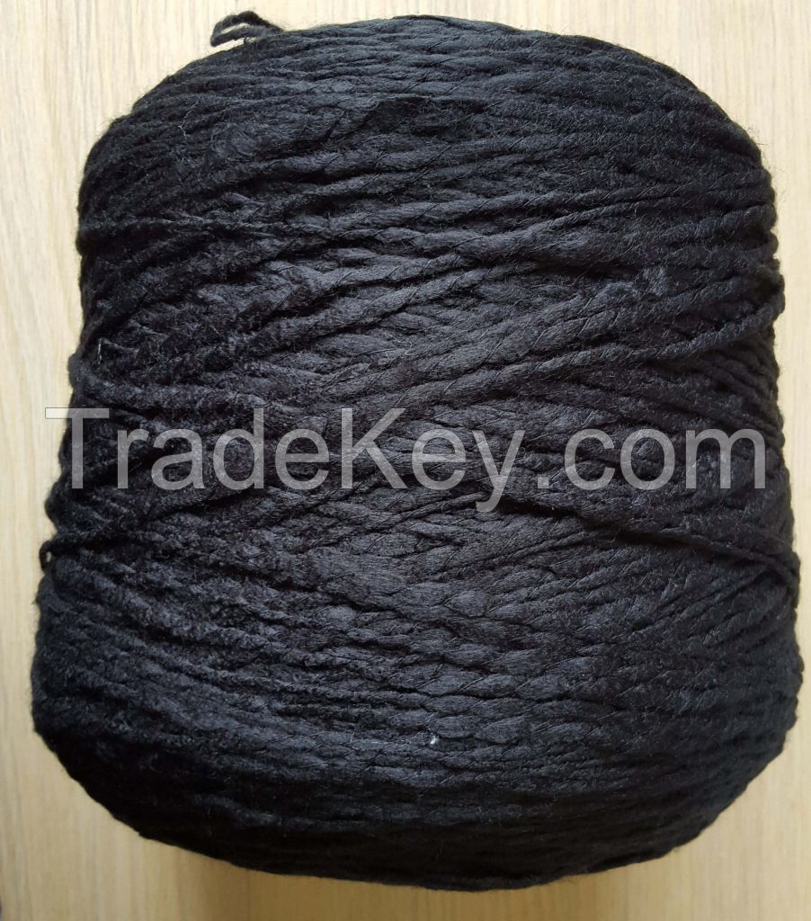 100% acrylic fancy yarn slub yarn big-belly yarn