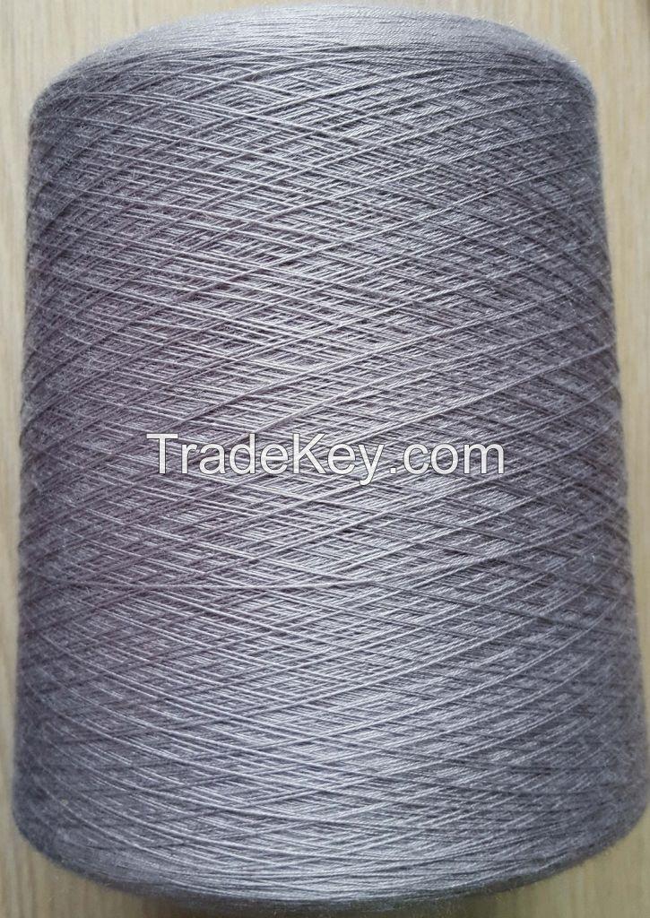 47% acrylic 33% tencel 20% wool knitting dyed yarn Nm57/3