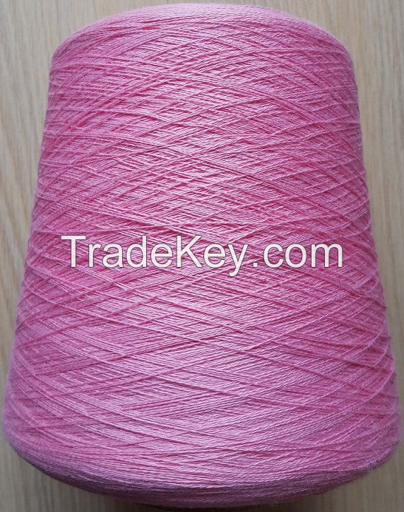 70% bamboo fiber 30 %cotton dyed knitting yarn
