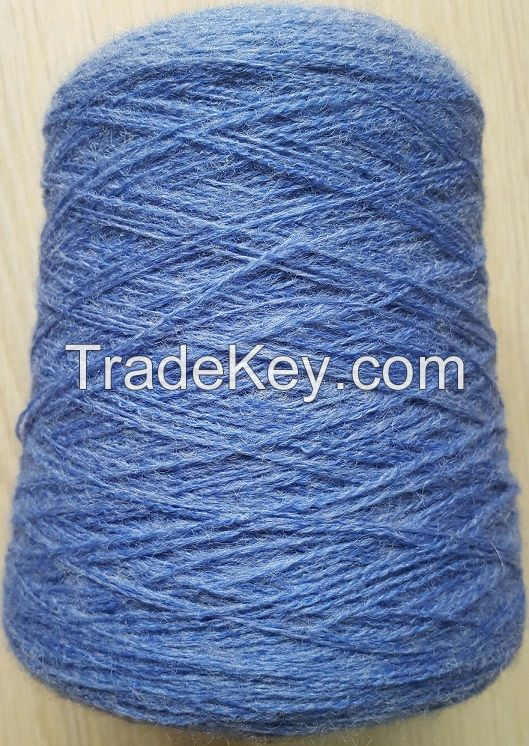 30%wool 70%bulk acrylic blended sweater yarn