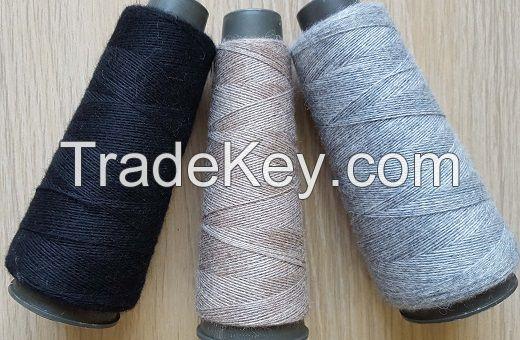 100% wool knitting yarn