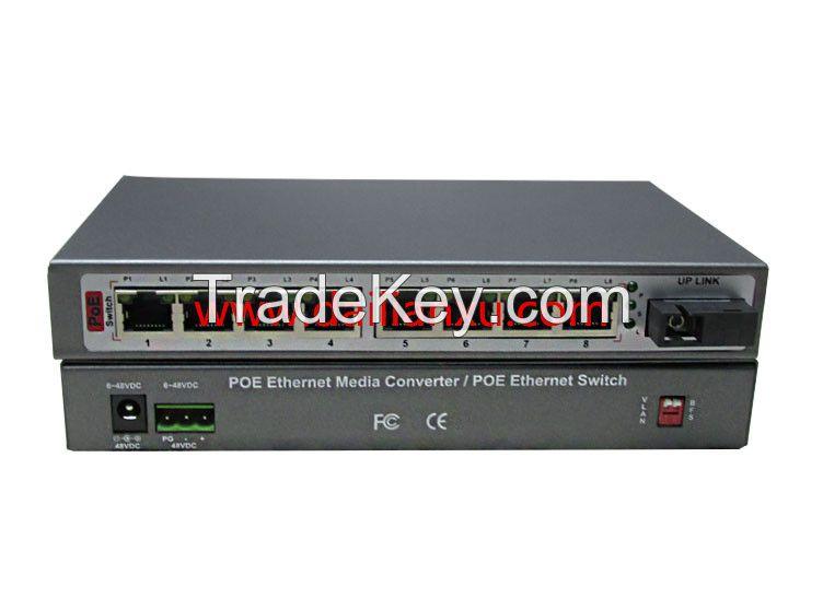 DLX-PFS Series 10/100M POE Ethernet Fiber Optical Switch