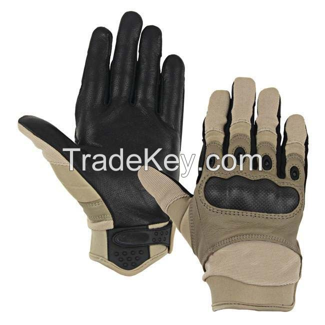 Police Combat  Tactical  Gloves