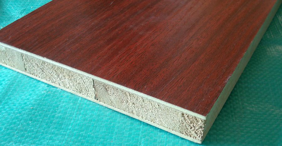 Sell Melamine paper faced blockboard , plywood Name
