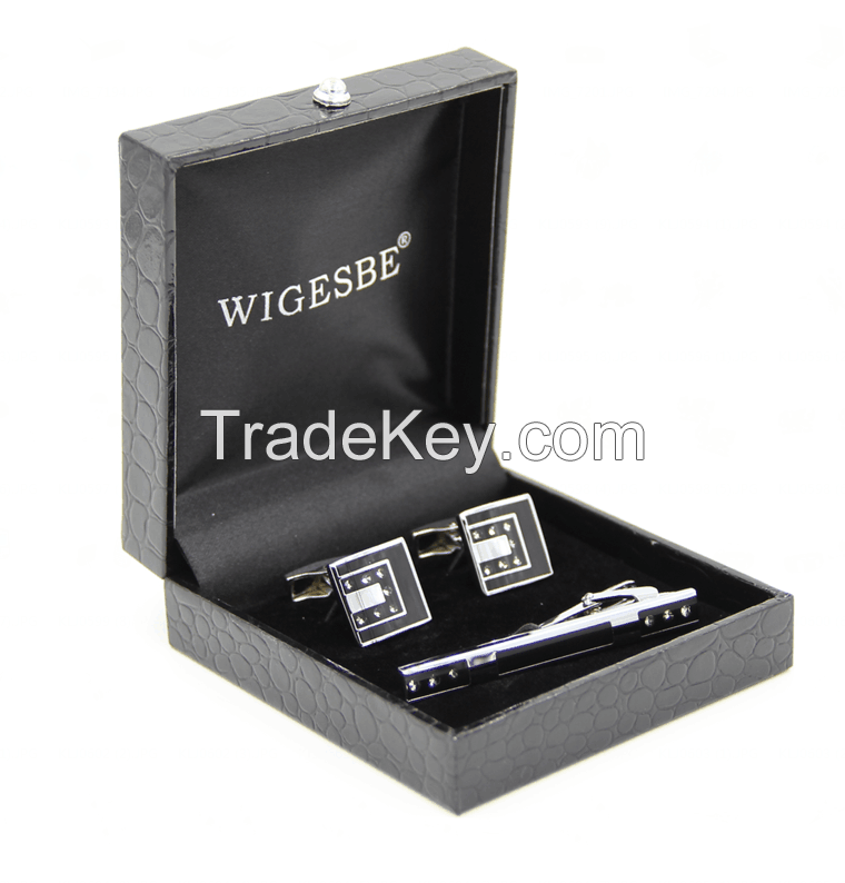 gift sets, cufflink with tie clip