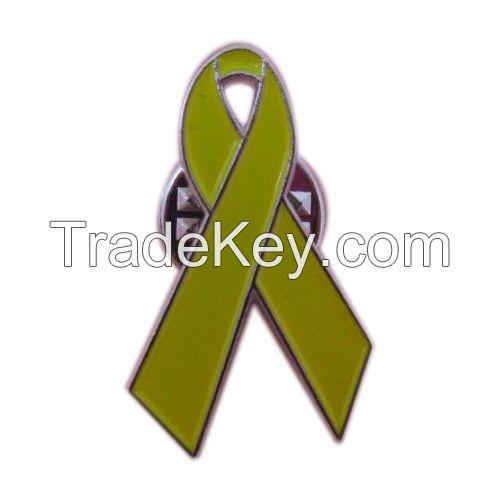 Sell ribbon lapel pin