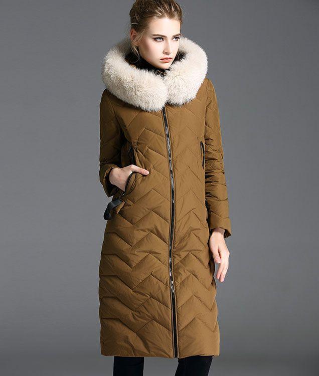 Women's Winter Outwear Light Coat Hooded Down Jacket