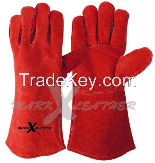 Leather Welding Gloves Safety Gloves MX-226