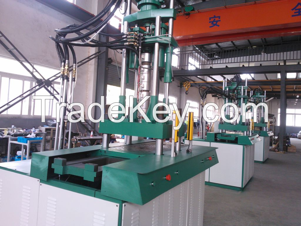 double shuttle table injection molding machine, sole making machine