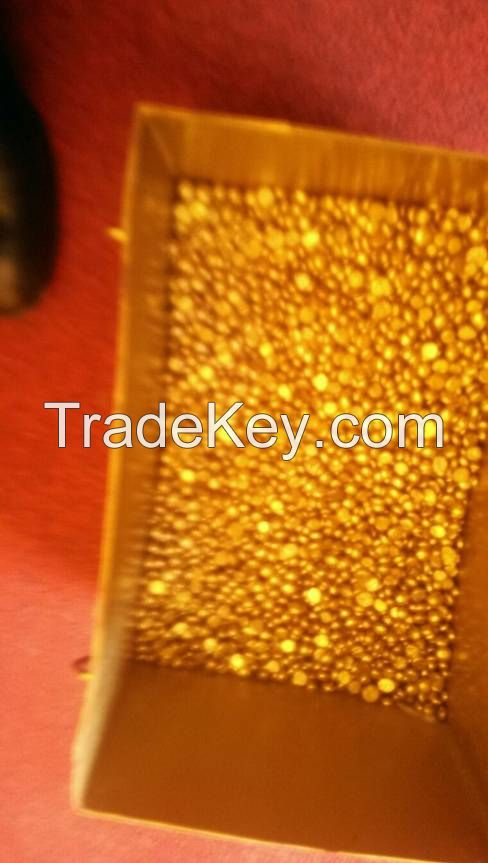 sale of gold and copper cathode