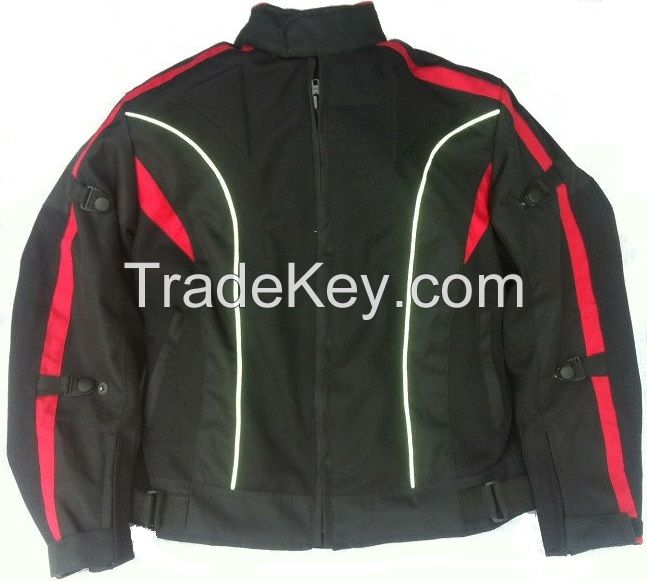 Motorcycle Summer Air Jacket Waterproof CE Protection