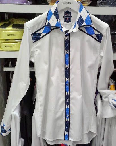 Men's shirt slim fit %100 cotton fabric