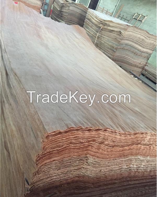 Natural Gurjan/ Keruing Veneer, EV Gurjan Veneer for plywood face