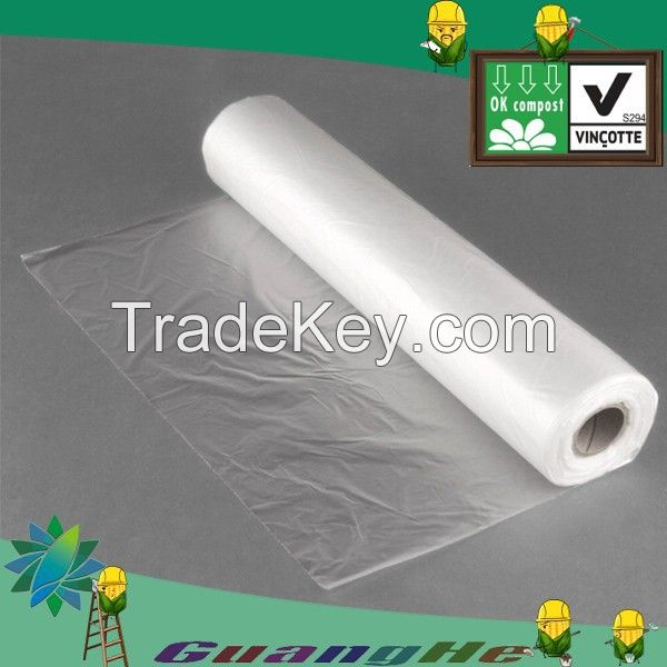 biodegradable PLA rolling bag for food packaging