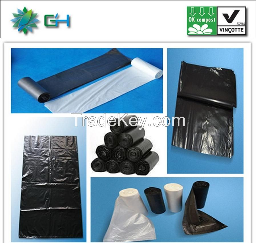 Environmentally safe products, pla plastic biodegradable bag