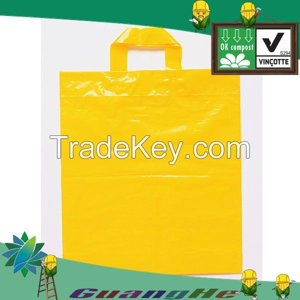 Nature plastic shopping bags, christmas plastic shopping bags