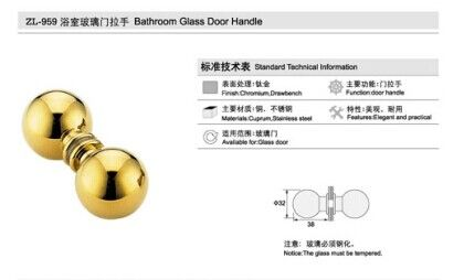 Stainless steel knobs handle ZL959