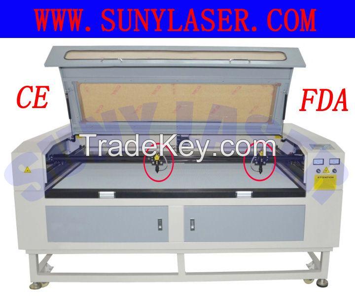 Multi Heads Fabric Laser Cutting Machine at Fast Speed