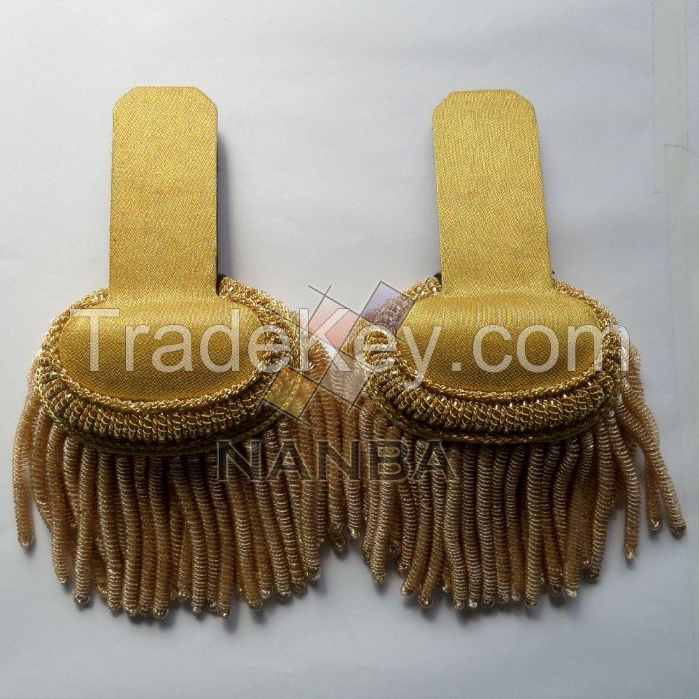 German Epaulette Shoulders