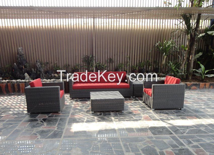 New Poly Rattan Furniture, Sofa Set