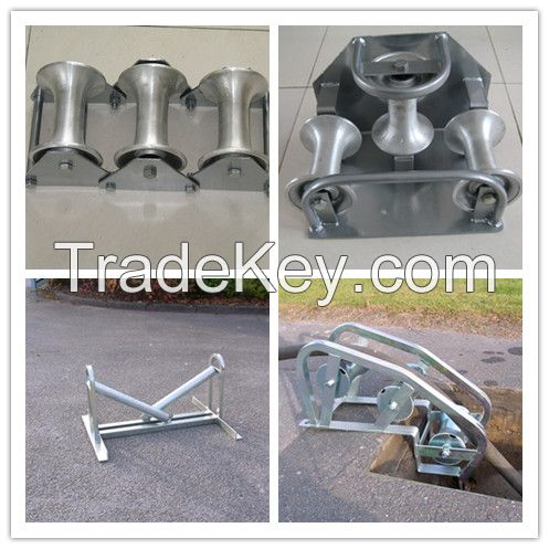 Sell Cable Roller/Triple Corner Rollers/Manhole Quadrant Roller