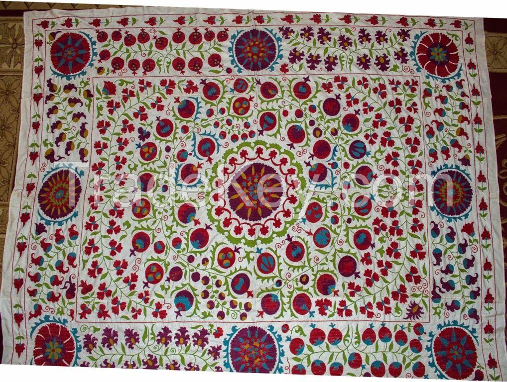 Uzbek Embroidery Suzani