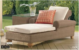 wicker rattan beds