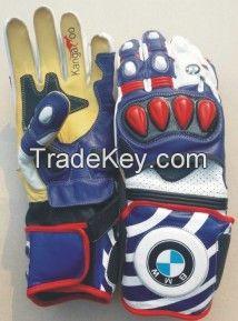 Leather Motorbike Gloves