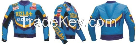 Roadway Safety Leather Jacket