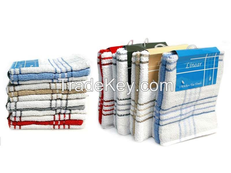 3Pk Fancy Tea Towels