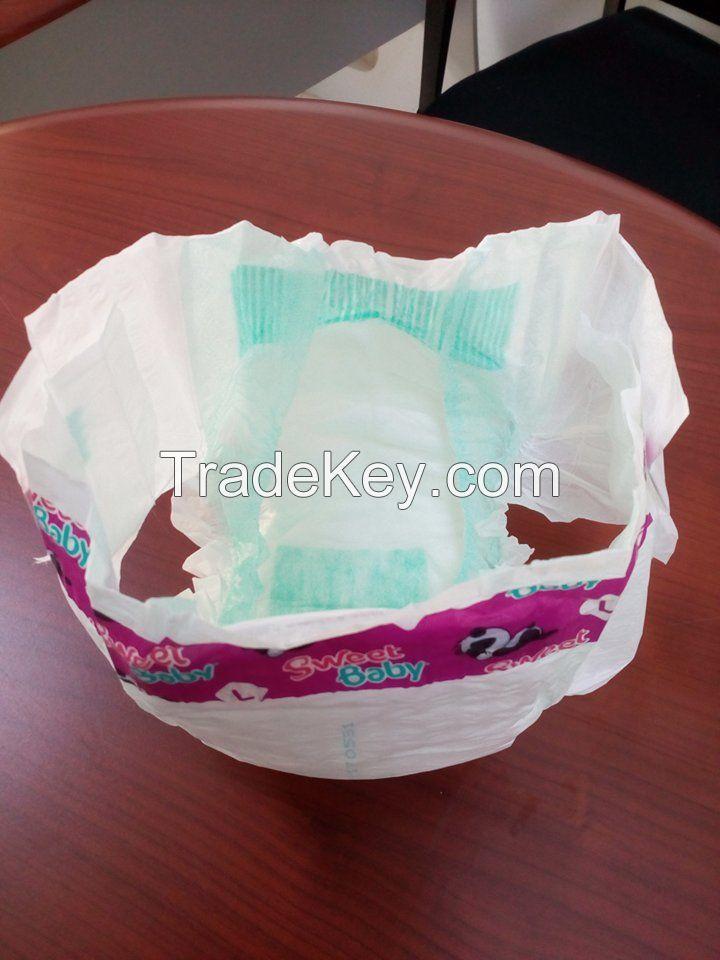 Export baby diapers
