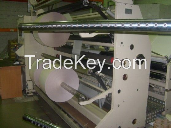 High Speed Slitting Rewinding Machine for adhesive paper and film