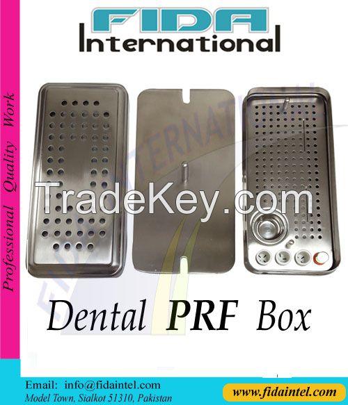Dental PRF Box & GRF System Dental Implant Platelet Rich Fibrin Box Made of 316L Stainless Steel Dental Implant Instruments Box