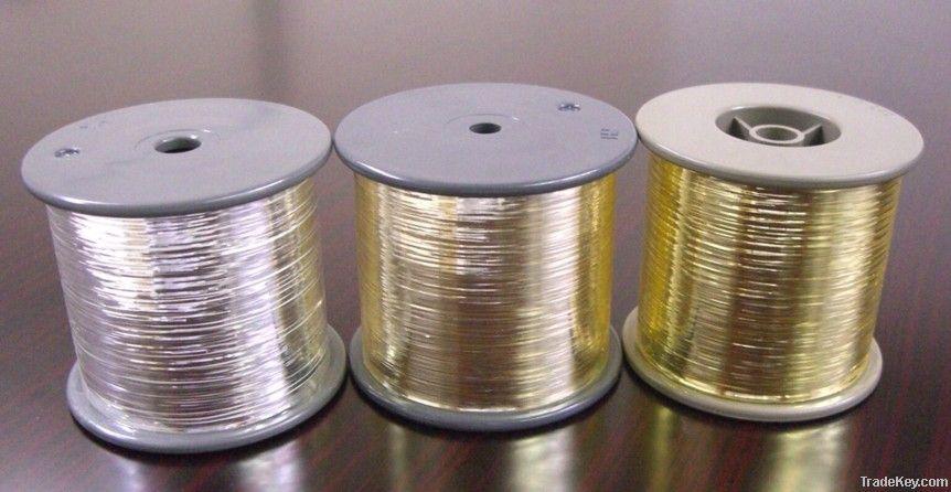 Pure Silver Metallic Yarn
