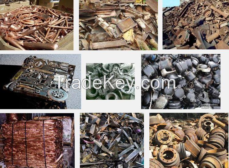 copper scrap, hms scrap, used rail, metal scrap, moto scrap, vessel scrap, tyre wire scrap, aluminium scrap, compressor scrap, car engine scrap