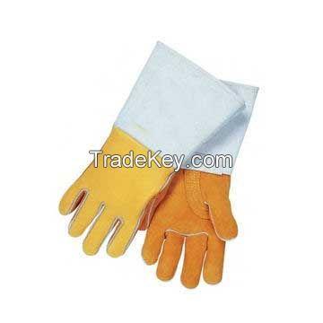Hot Selling Cow Split Leather Welding Gloves