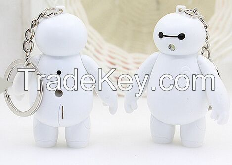 YL-k170 Lovely LED keychain with sound