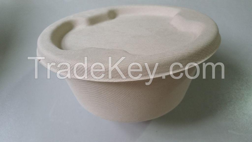 Disposable Unbleached Paper  Bowl
