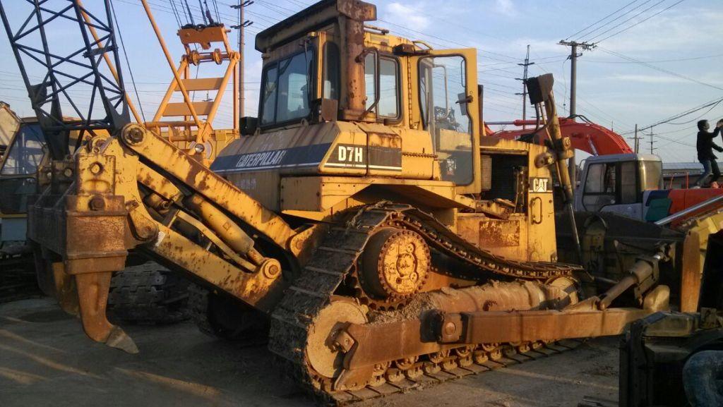 D7H Used CAT Bulldozer original japan CAT bulldozer D7H used for sale