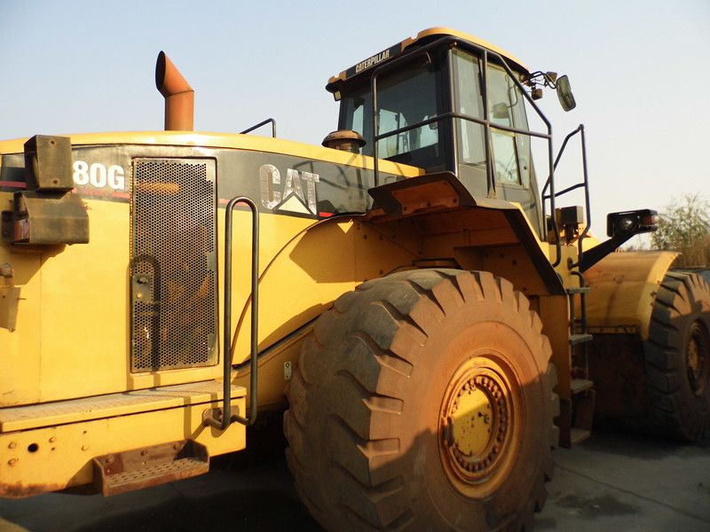 Used CATERPILLAR 980G Wheel loader SALE CHINA