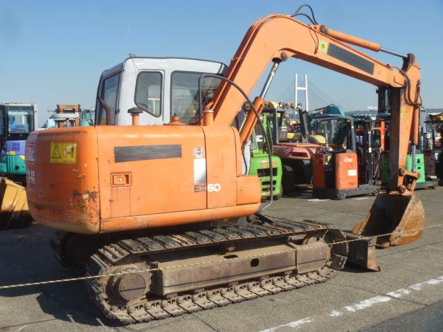 Used HITACHI EX60-5 Mini Excavator