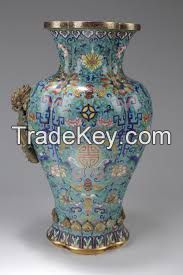 antique chinese cloisonne
