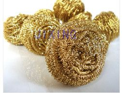 Sell Non sparking Brass Wire Cleaning Ball
