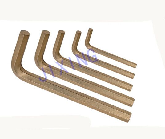 Sell copper alloy hex allen key wrench sets, non-sparking tool.
