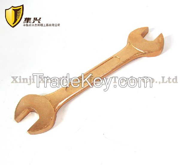 Sell Non spasrking Beryllium copper alloy double open end wrench, safety tool.