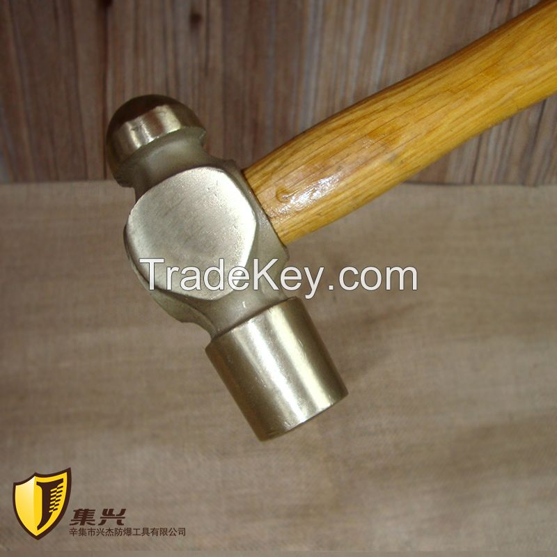 Non sparking Ball Pein Hammer, Safety Copper Hand Tools