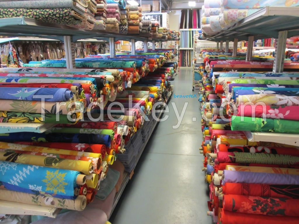 Super soft 100% cotton/polycotton Fabrics