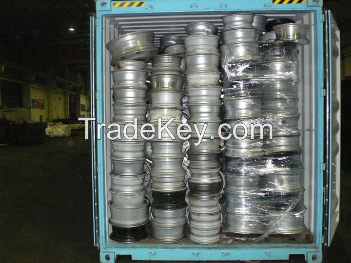 wheels aluminum scrap