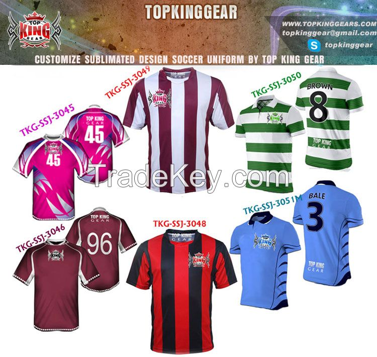 2013 Design Sublimated Soccer Jersey And Soccer Shirts For Club